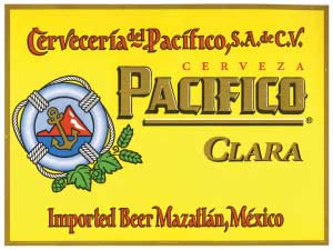 Pacifico Pale Lager