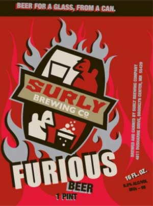 Surly Furious India Pale Ale (IPA)