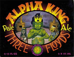 Three Floyds Alpha King American Pale Ale