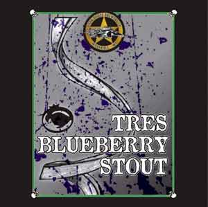 ark Horse Tres Blueberry Stout